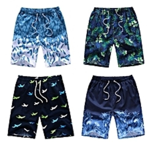 Colourful beach shorts - 3/4