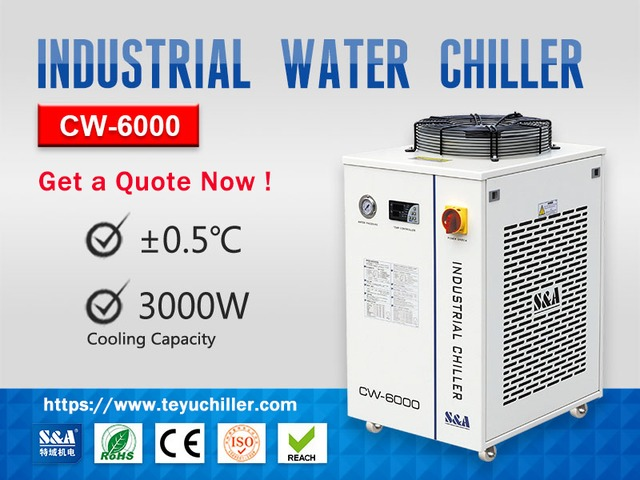 Recirculating Industrial Chiller Unit CW-6000 - 1/1
